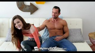 MyVeryFirstTime – Alex Mae struggles with her first ever anal penetration