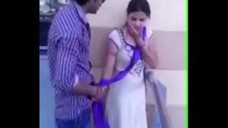Open kiss in public place