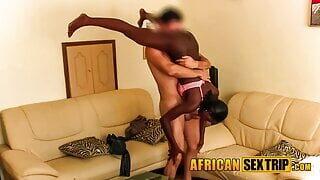 Found This Horny Black African Amateur Slut